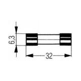 Zekeringen 6,3x32mm Snel & Traag
