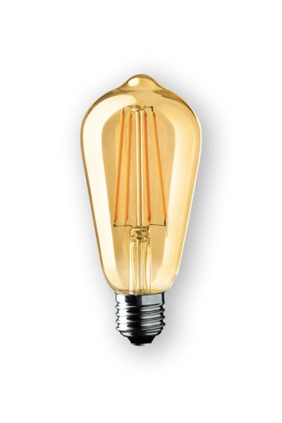 WIVA  Led Edison Antique E27 6W 2000K 550L
