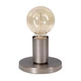 Base tafellamp Vintage zilver