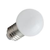 Spectrum LED Kogel Outdoor 1w wit E27