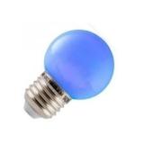 Spectrum LED Kogel Outdoor 1w blauw E27