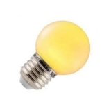 Spectrum LED Kogel Outdoor 1w geel E27