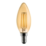 WIVA Led Kaars Antique E14, 4W, 2000K, 330L