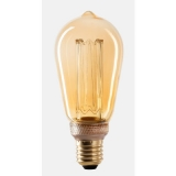 WIVA Led Kooldraad Edison ST64 Antique E27, 2,5W, 2000K, 120L