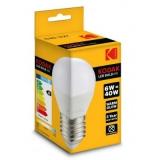 Kodak LED Kogel 6W, 3000K, E27, 480lm