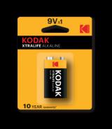 Kodak XTRALIFE Alkaline 9V