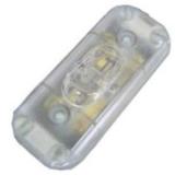 Snoerschakelaar transparant 2 amp