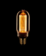 LED Kooldraad T45 buislamp E27 3,5w/13w 1800K 120L Goud