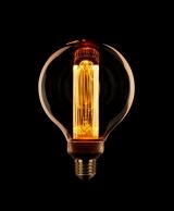 LED Kooldraad Globe 95mm E27 3,5w/13w 1800K 120L Goud