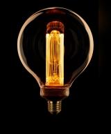 LED Kooldraad Globe 125mm E27 3,5w/13w 1800K 120L Goud