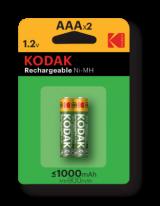 Kodak Rechargeable Ni-Mh AAA 1000 mAh