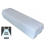 Led Galerij-/Portiekverlichting IP65 Opale kap 6w 4000K