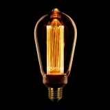 LED Kooldraad Edison E27 3,5w/13w 1800K 120L Goud