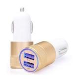 USB autolader 2,1A goud